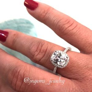 Jewelry - CC Sterling Silver Rings For Women Wedding